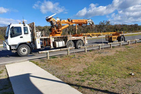 Crane Truck Transportation